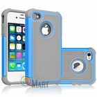 Hybrid Hard Defender Slim Armor Heavy Shockproof Case Cover For iPhone 4 4G 4S