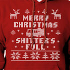 Merry Christmas Shitters Full Funny Ugly Christmas Sweater Funny Vacation Gift