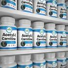 Acetyl L-Carnitine Capsules -1500mg Serving Strength - Diet Pill - Muscle Gain