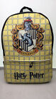 Men Backpack Anime Harry Potter Gryffindor Leatner Pu Packsack School Travel Bag