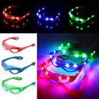 Supplies Cobweb style Flashing  Luminous Stylish Glasses Neon Light  LED Glow
