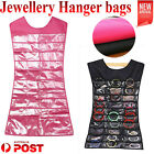 Jewellery Hanger Bags Hanging Jewelry Dress Organiser Display Earring Holder Au