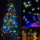 30 LED Solar Warm Cool White LED Party Fairy Outdoor String Lights Garden  Lamp