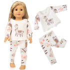 Kyпить  Cute Printing Pajamas Suit Doll Clothes for 18 Inches Girl Doll Accessories Toy на еВаy.соm