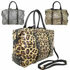 New Leopard Pattern Marble Decoration Faux Leather Women's Tote Bag