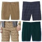 Northwest Territory Men's Belted Cargo Twill Shorts. Assorted colors & sizes.