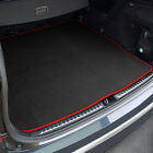 Fits For Nissan Note Boot Mat (2013+) Black Tailored [bottom floor]