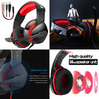 USB Surround Stereo Headphones Foldable Gaming Headset Super Bass Earphones