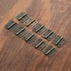 Внешний вид - 10x Small Vintage Metal Hinges Jewelry Box Dollhouse Cabinet Door Hinges 30*21mm