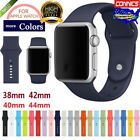 Fr Apple Watch Series 1 2 3 4 38mm42mm 40mm44mm Sport Silicone iWatch Band Strap image