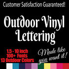 Kyпить Custom Outdoor Vinyl Lettering. Window Truck Jeep Decal Sticker на еВаy.соm