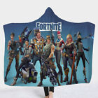 Cute Game Fortnight Nite 3D SS6 Battle royale Plush Hoode Blanket Special gift