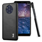 Imak Slim Shockproof Case For Nokia 9 PureView Classic Business PU Leather Cover