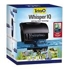 Whisper IQ Power Filter for Aquariums Fish Tank, With Quiet Technology