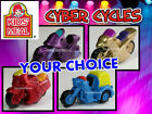 Kyпить Wendy's 1994 CYBER CYCLES Motorcycle METALLIC Bike Cycle YOUR Toy CHOICE на еВаy.соm