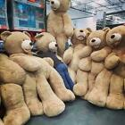 80cm-340cm Giant Teddy Bear Plush Dolls Bearskin without filling All Sizes