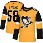 Kris Letang Pittsburgh Penguins adidas NHL Authentic Pro Alternate Jersey
