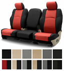 Leatherette Coverking Custom Seat Covers for Nissan Versa
