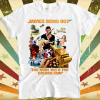 The Man With The Golden Gun 70s James Movie Poster Retro Bond 007 T Shirt 2382 $9.03 USD on eBay
