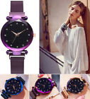Luxury Women Ladies Girl Starry Sky Watch Diamond Dial Analog Quartz Wrist Watch image