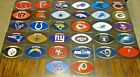 NEW NFL Football Stickers PICK ANY TEAM! Logo Helmet Decal Peel & Stick Paper