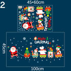 Home Decoration Xmas Wreath Festival Mural Window Decals Wall Stickers Wall Art