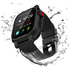 for Apple Watch Series 4 Waterproof Armor Case Cover Silicone Band Strap 40/44mm