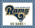 Los Angeles Rams - Edible Cake Topper or Cupcake Topper $16.95 USD on eBay