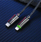 USB-C Type-C to Lightning PD Fast Charging Charger Cable Cord iPhone XS MAX/X/8