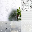 3D Frosted Decorative Privacy Glass Window Film Sticker 45/60/90 x 200cm