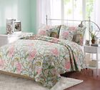 Riemer Floral 100% Cotton Reversible Quilt Set, Bedspread, Coverlet image