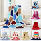 Super Soft Warm Solid Micro Plush Fleece Flannel Blanket Throw Rug Sofa Bedding image
