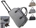 Ladies G Print Weekend Bag Holdall Trolley Hand Luggage Holiday Travel Handbag