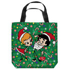 I LOVE LUCY HOLIDAY DANCE LICENSED LIGHTWEIGHT TOTE BAG 2 SIDED PRINT