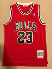 Michael Jordan #23 Throwback Chicago Bulls Red Mens Jersey on eBay