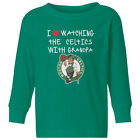 Boston Celtics Love Watching With Grandpa Kids Toddler Long Sleeve T-Shirt on eBay