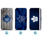 Toronto Maple Leafs Leather Flip Case For iPhone X Xs Max Xr 7 8 Galaxy S9 S8 $8.99 USD on eBay