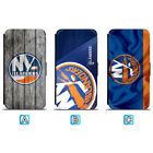 New York Islanders Leather Flip Case For iPhone X Xs Max Xr 7 8 Galaxy S9 S8 $7.99 USD on eBay