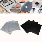 Внешний вид - 4PCS Reusable Gas Range Stove Top Burner Protector Mat Liner Cover For Cleaning