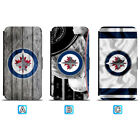 Winnipeg Jets Leather Flip Case For iPhone X Xs Max Xr 7 8 Galaxy S9 S8 $8.99 USD on eBay