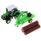 1:43 Die-Cast Farm Vehicle Pull Back Tractor Toy for Kids Play Party Favors