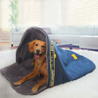 Hoopet Large Dog Sleeping Bag Bed Kennel Sofa House Puppy Cave Pet Warm Nest Cat