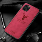 For iPhone 12 Mini 12 Pro Max 11 Pro XS XR X 8 7 6 Matte Leather Case Soft Cover