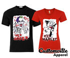 🔥 Her Joker His Harley Couple Matching T-shirts Cute Quinn His Hers squad shirt image