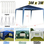 Waterproof Garden Heavy Duty Gazebo Outside Marquee Party Tent Wedding Canopy