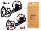 Digirit Campagnolo Campy Oversized Pulley System 16/16T Black & Red
