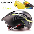 Men Women MTB Road Bike Helmet With Goggles Visor Triathlon Sport Cycling Helmet