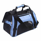 Pet Carrier Soft Sided Cat / Dog Comfort Black Travel Bag Airline Approved S / L