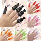 10X Healthy Beauty Plastic Nail Soak Cap Off Clip UV Gel Polish Remover Wrap $2.79 CAD on eBay