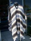 NEW Genuine Mexican Poncho Clint Eastwood One Size Fits All Adult Choose Colour